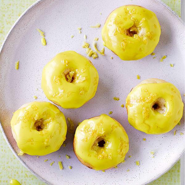Photo de/du Mini-donuts citron et miel par WW