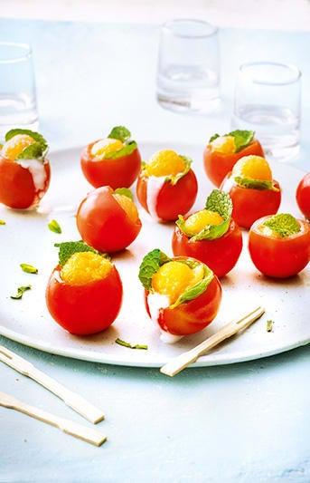 Photo de/du Tomates cocktail au melon par WW