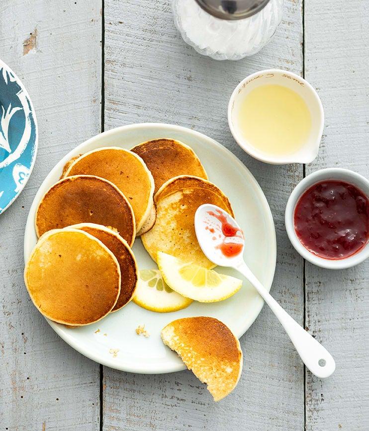 Photo de/du Pancakes citronnés à la ricotta par WW