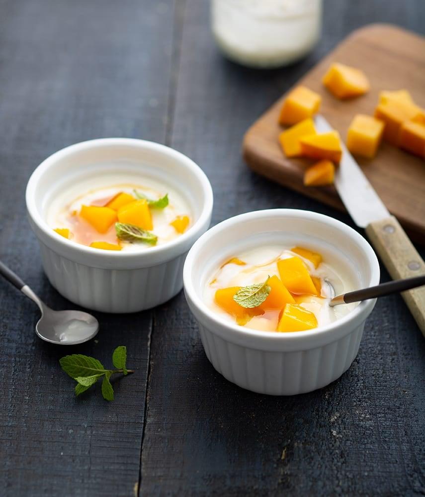 Photo de/du Tartare de mangue au yaourt par WW