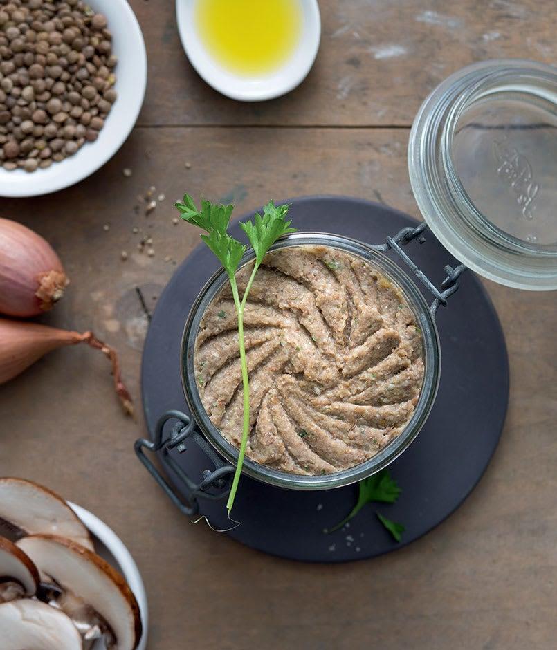 Photo de/du Pâté végétal aux cèpes et lentilles par WW