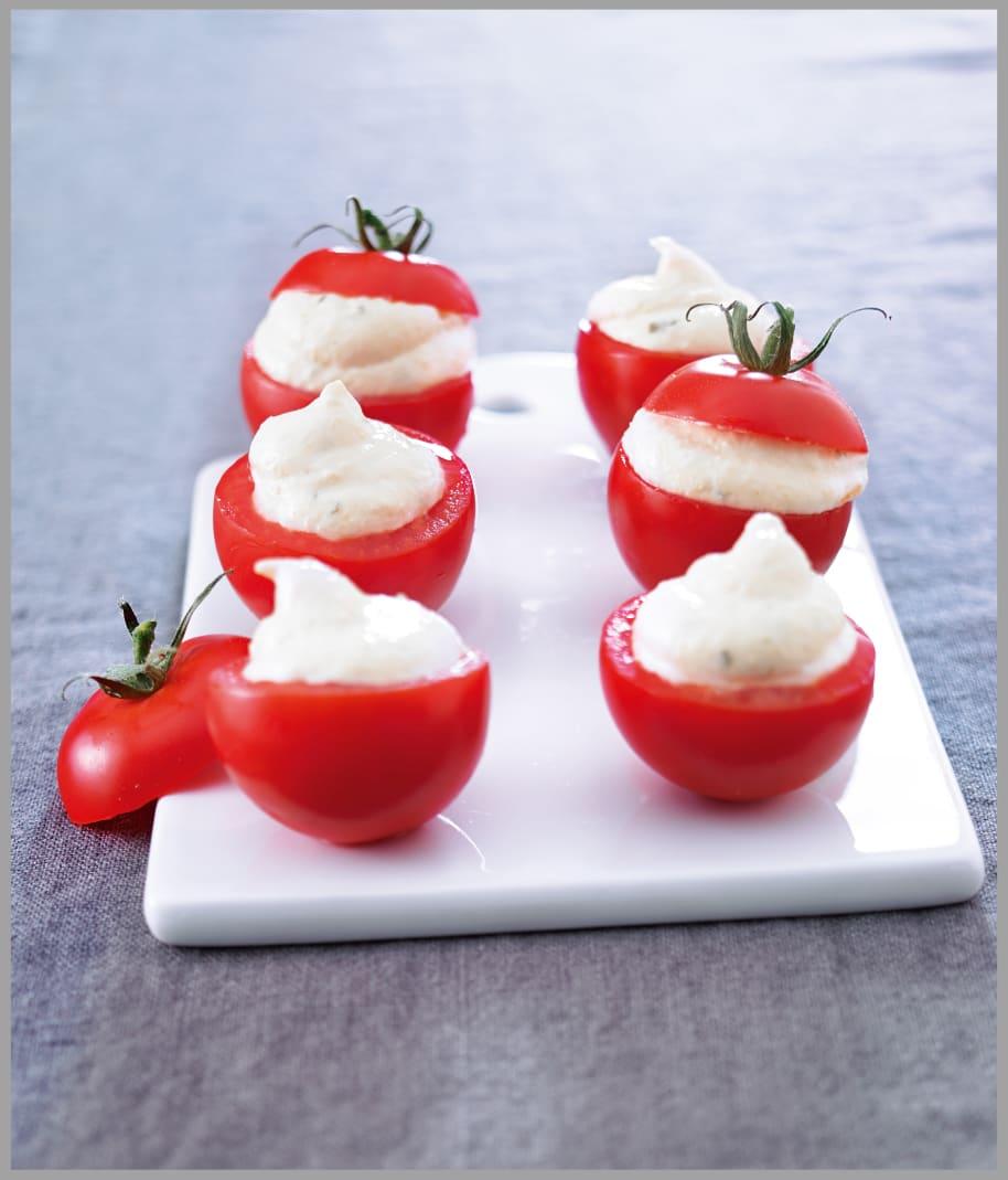 Photo de/du Tomates farcies à la crème de dorade par WW