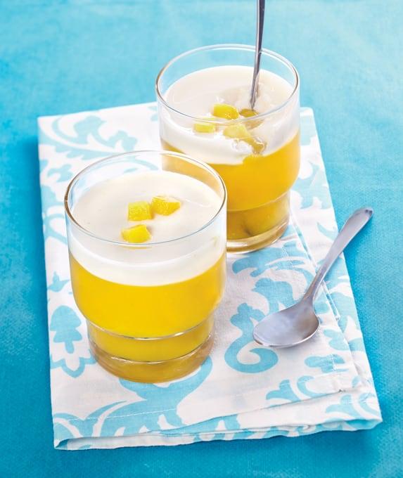 Photo de/du Crème bavaroise mangue et coco par WW