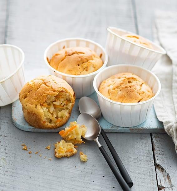 Photo de/du Muffins aux carottes et à la vanille par WW