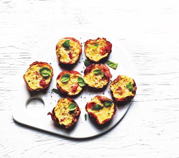 Photo de/du Mini muffins au jambon de Parme par WW