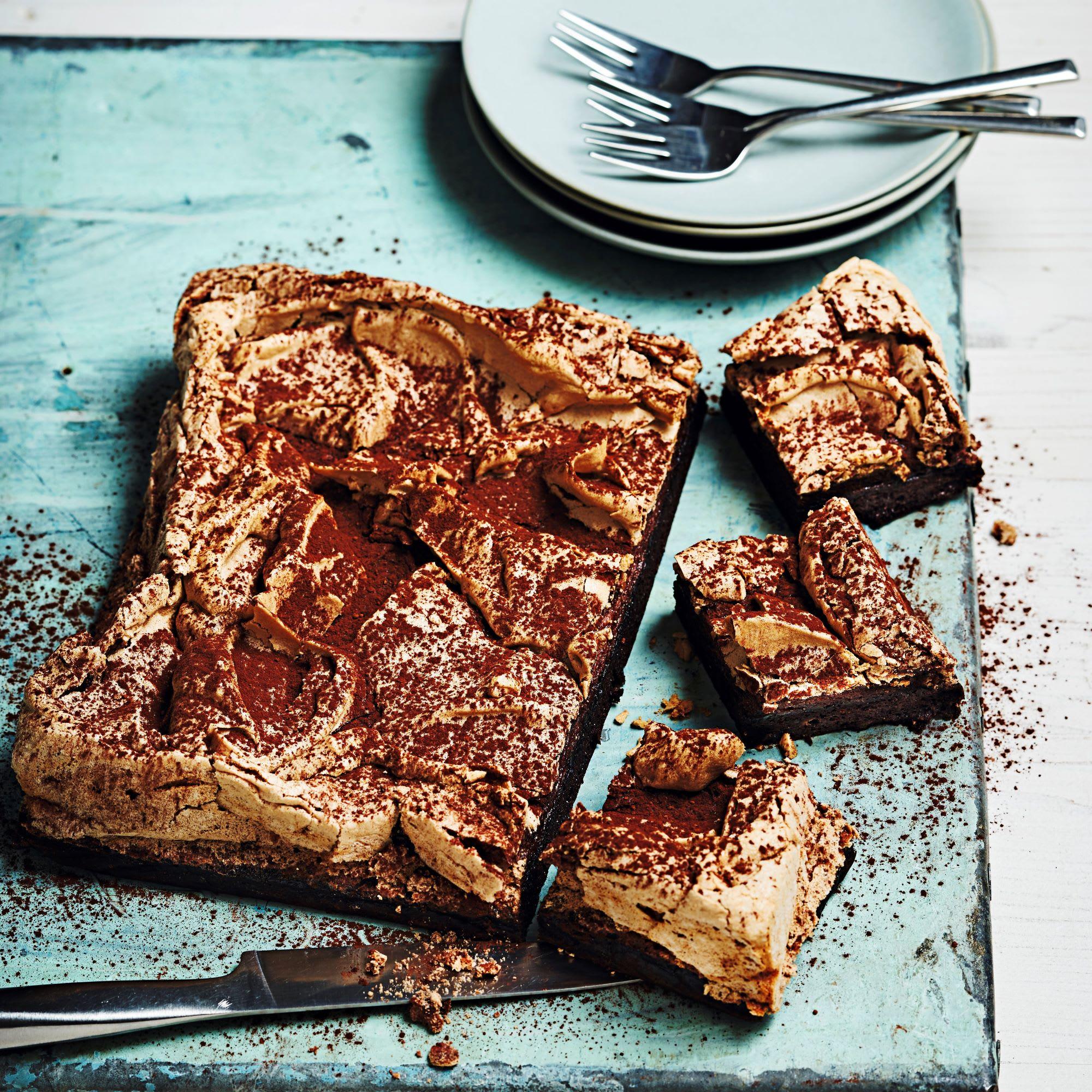 Photo de/du Gâteau au chocolat meringué par WW