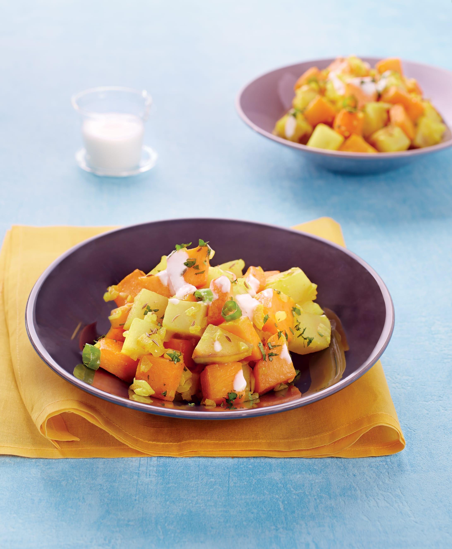 Photo de/du Curry de pommes de terre et de courge par WW