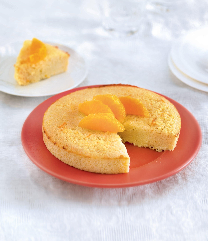Photo de/du Gâteau aux oranges et aux amandes par WW