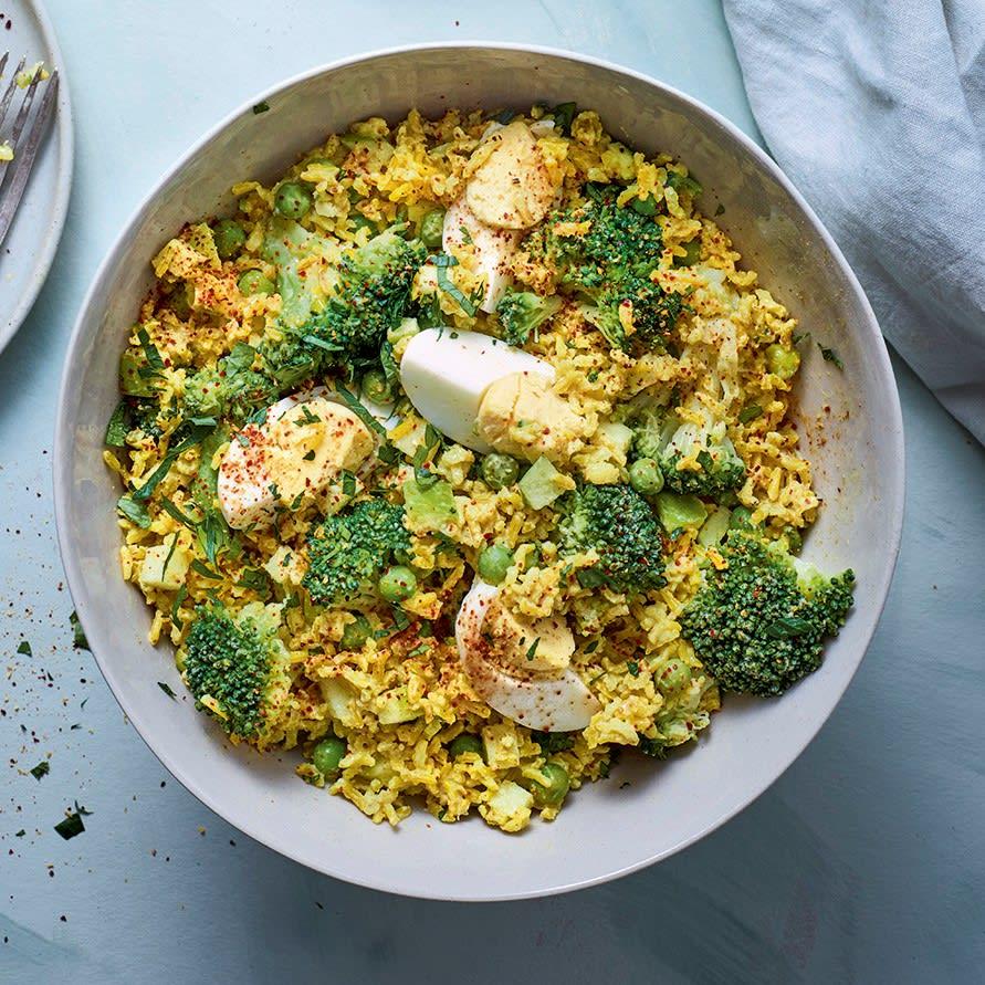 Photo de/du Salade de riz au curry par WW