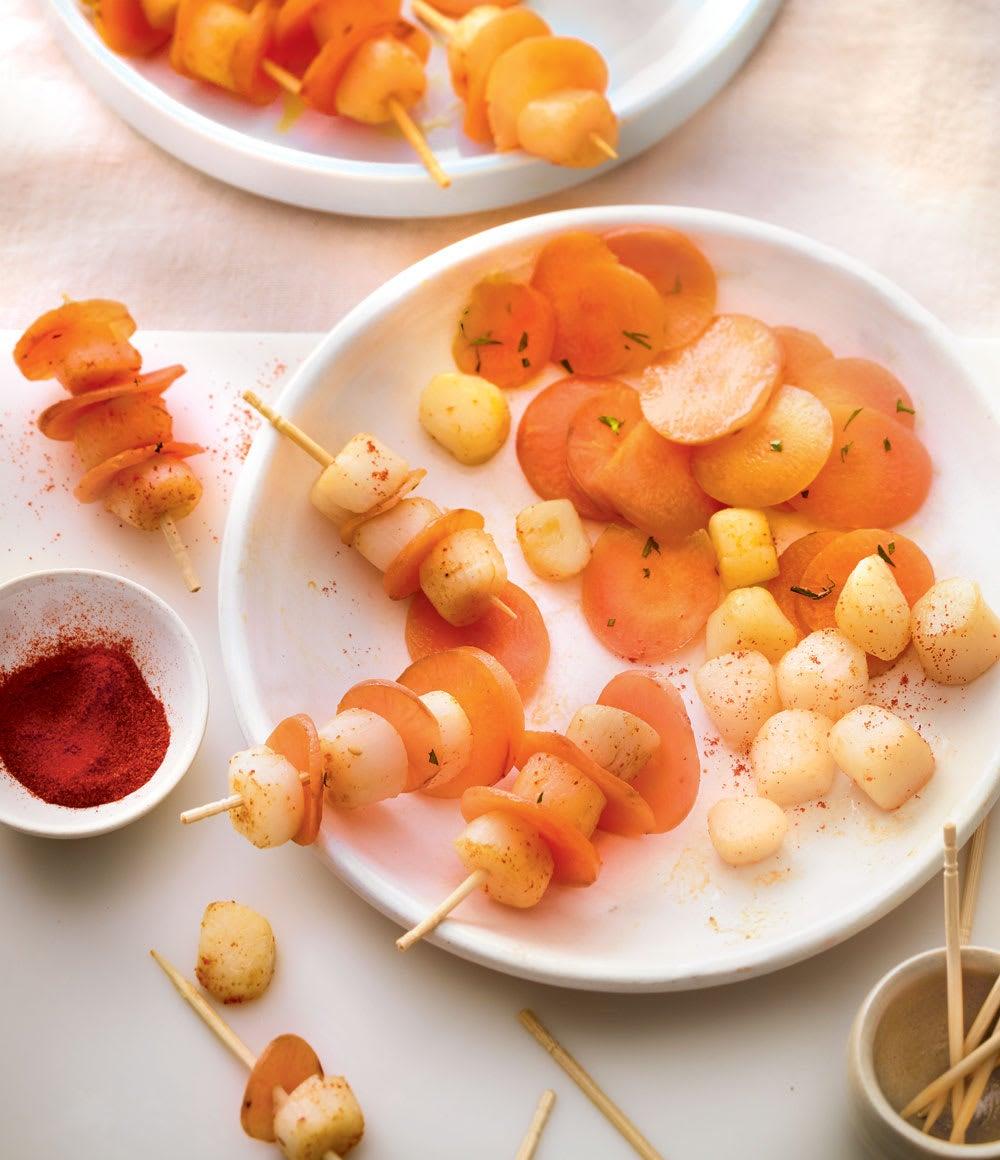Photo de/du Pics de pétoncles et carottes par WW