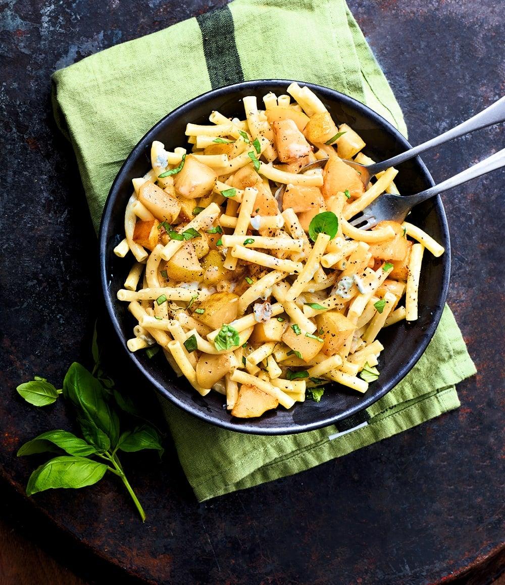 Photo de/du Macaronis poire gorgonzola de Lisa par WW
