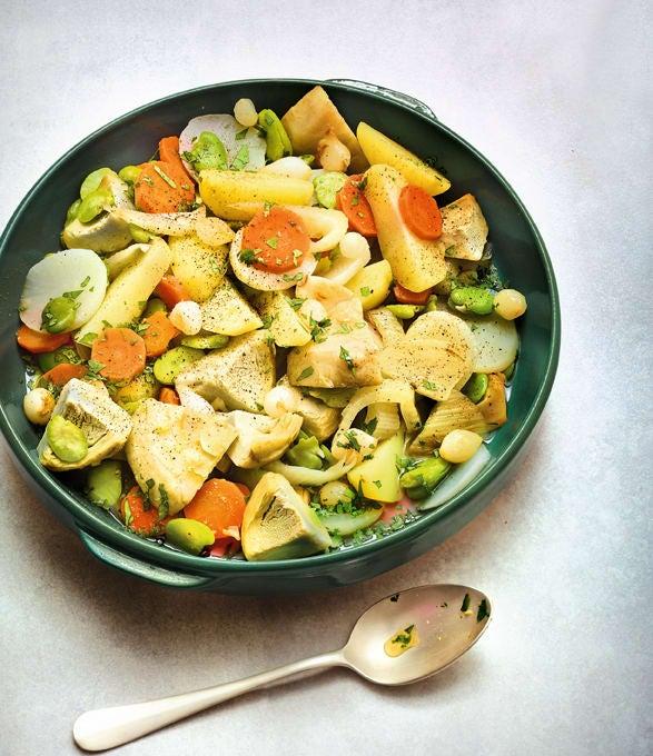 Photo de/du Tajine de petits légumes par WW