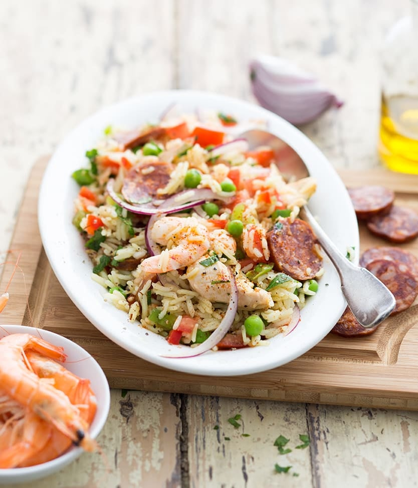 Photo de/du Salade comme une paella par WW