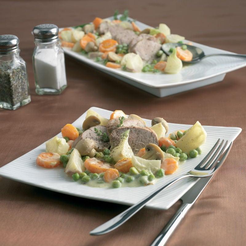 Photo de/du Blanquette de porc aux petits légumes par WW