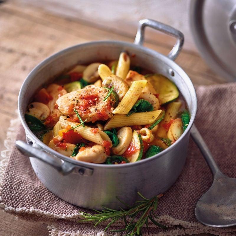 Photo de/du One pot pasta au poulet par WW