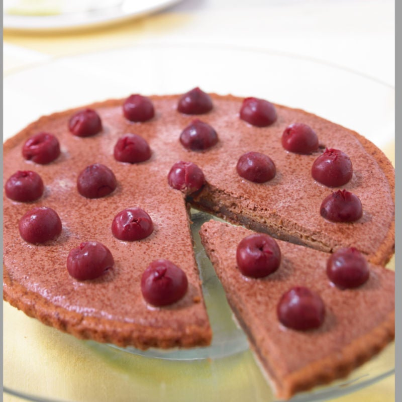 Photo de/du Entremets au chocolat et aux cerises par WW