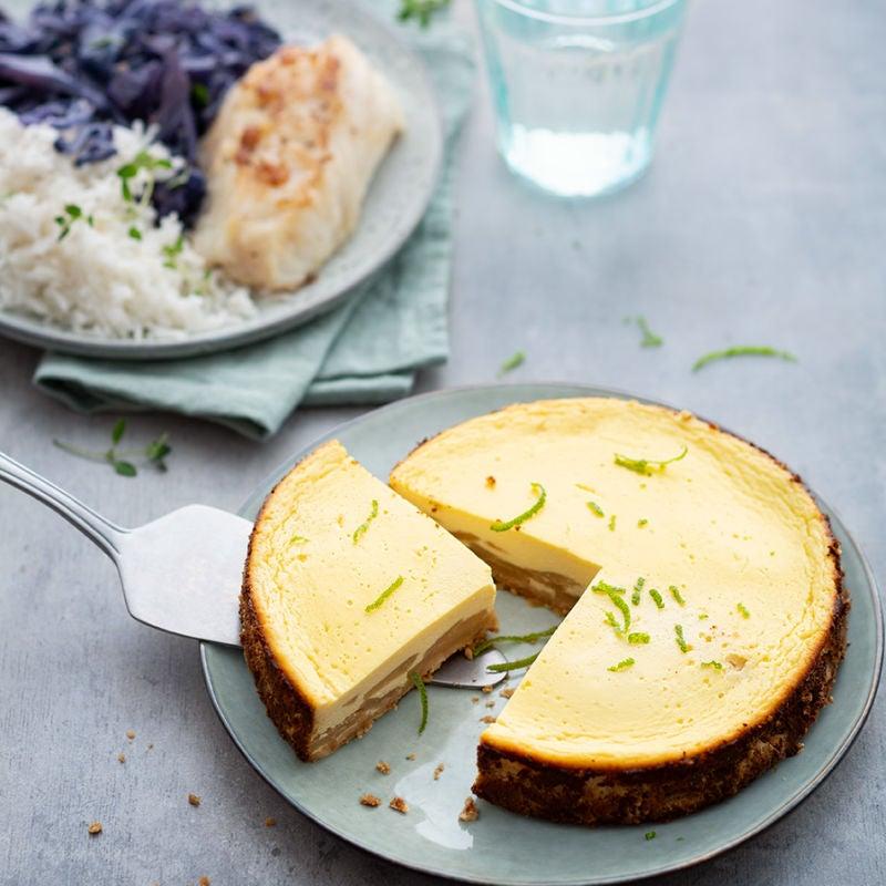 Photo de/du Cheesecake poire et citron vert par WW