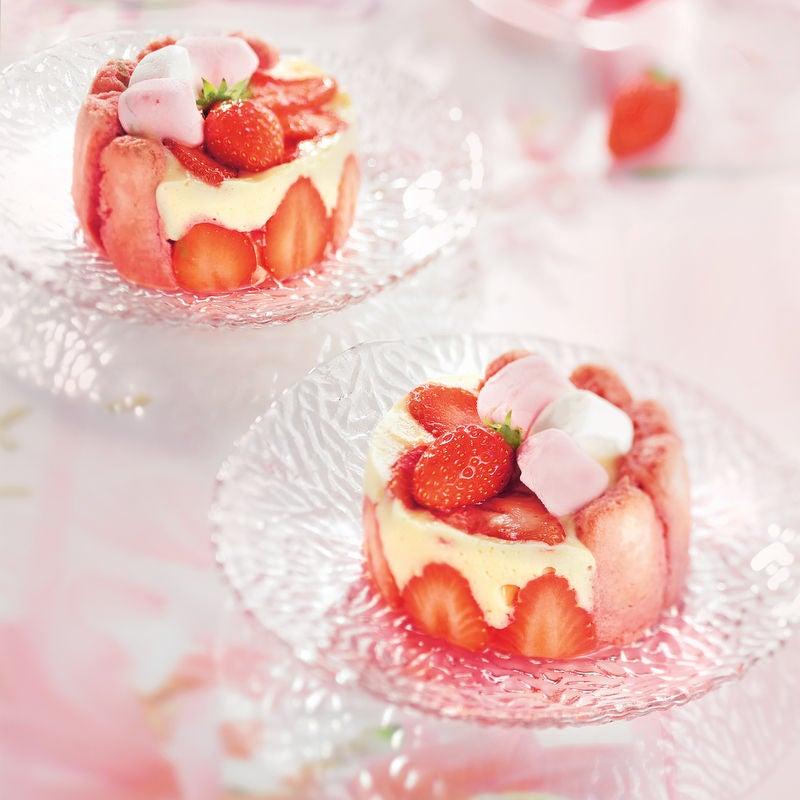 Photo de/du Charlottine rose, fraise-guimauve par WW