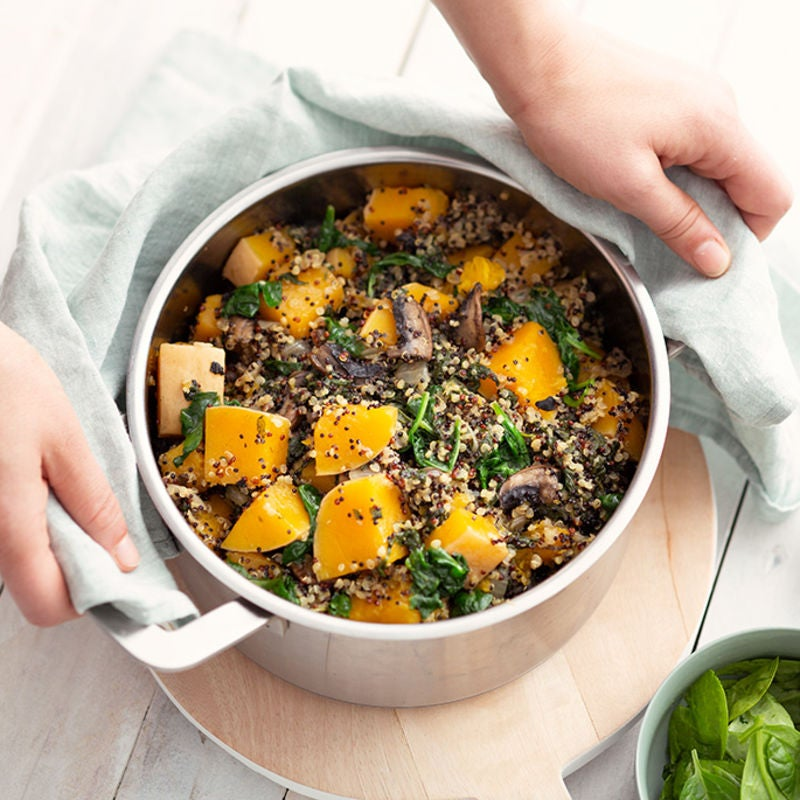 Photo de/du Quinoa au butternut par WW