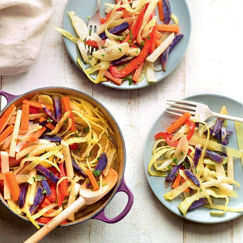 Photo de/du Cocotte de légumes aux vitelottes par WW