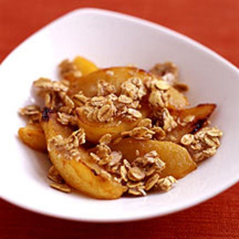 Photo de/du Pommes au four et avoine croustillante par WW