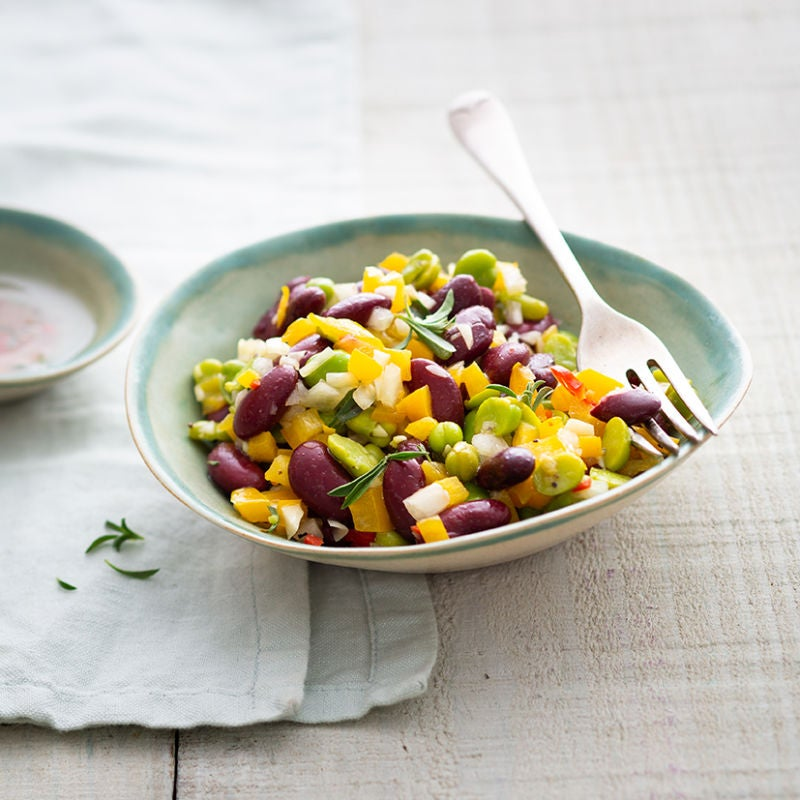 Photo de/du Salade de haricots par WW
