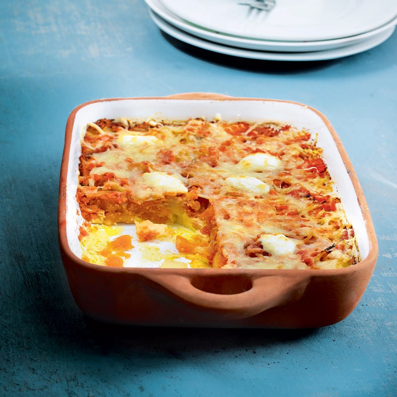 Photo de/du Gratin de potiron par WW