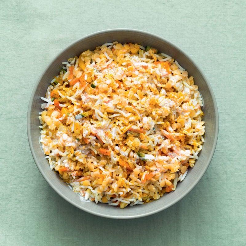 Photo de/du Curry de légumes et lentilles corail par WW
