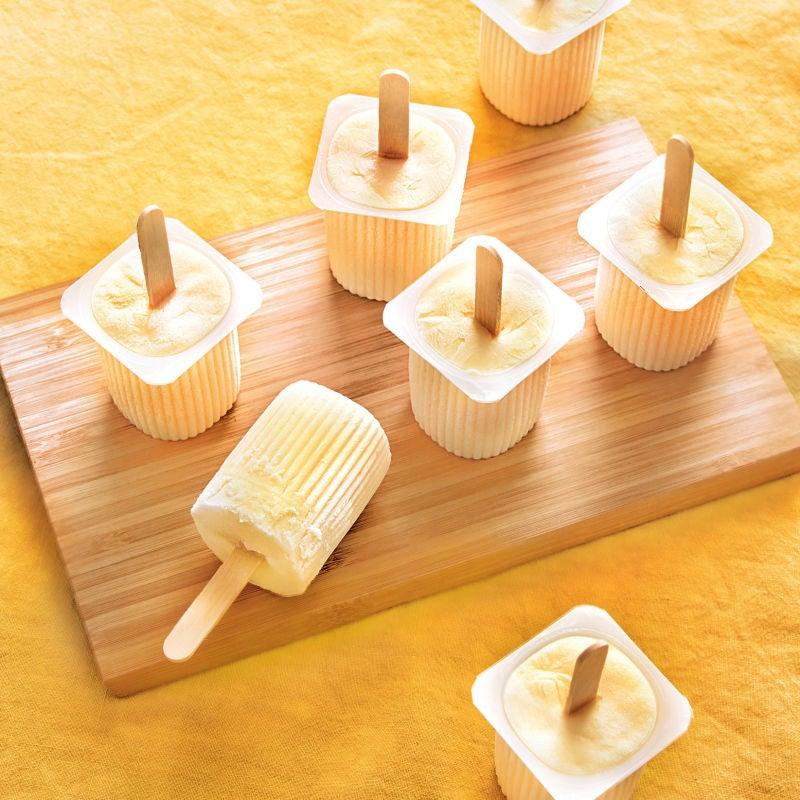 Photo de/du Petits-suisses glacés miel et agrume par WW