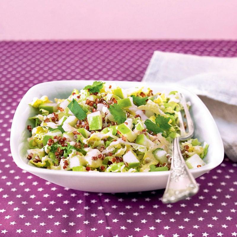Photo de/du Salade de chou et quinoa aux pommes par WW