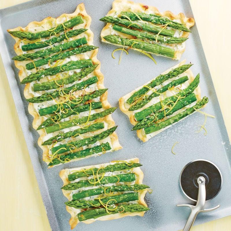 Photo de/du Pizza aux asperges vertes par WW