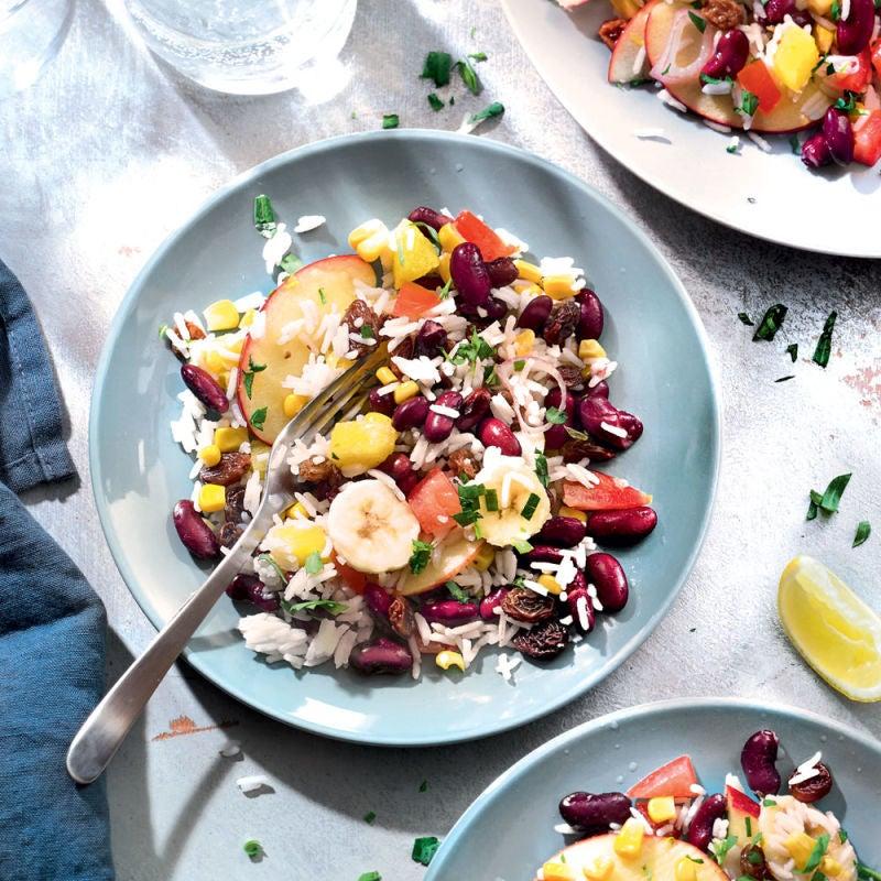 Photo de/du Comme une salade de fruits d'été, salée par WW