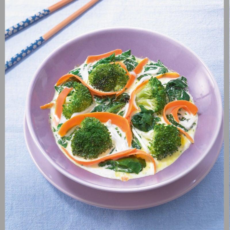 Photo de/du Poêlée de légumes au jus de coco par WW