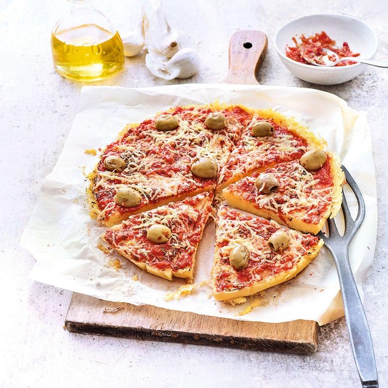 Photo de/du Polenta façon pizza de Laurence par WW
