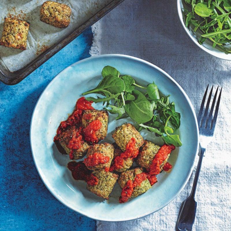 """Photo de/du """"Gnocchi"""" de brocoli et sauce tomate par WW"""