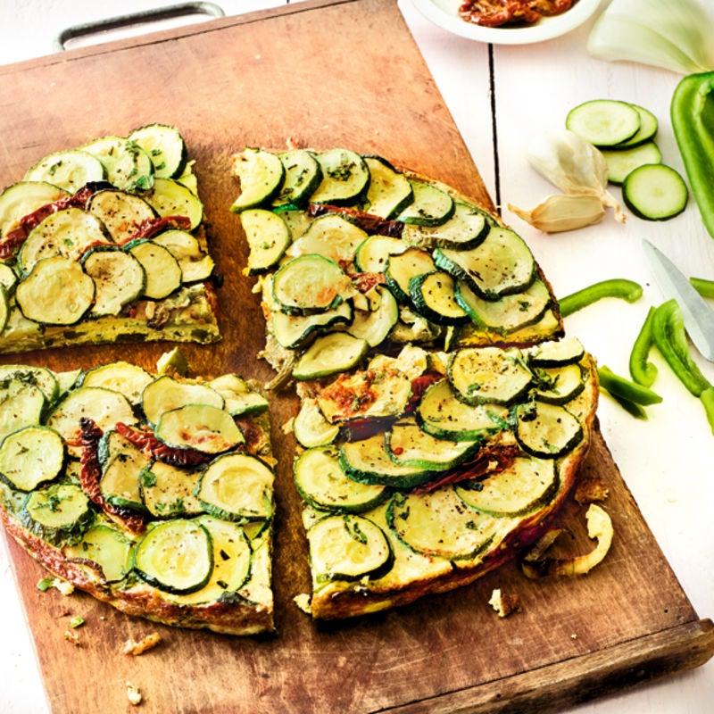 Photo de/du Gâteau salé soleil par WW
