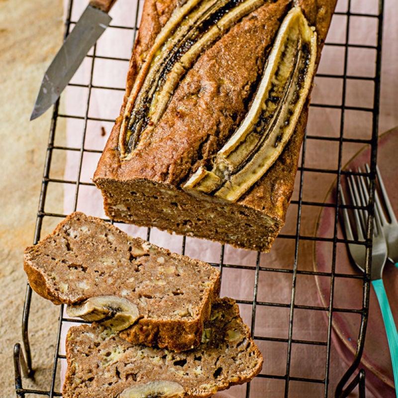 Photo de/du Cake à la banane et aux noix par WW