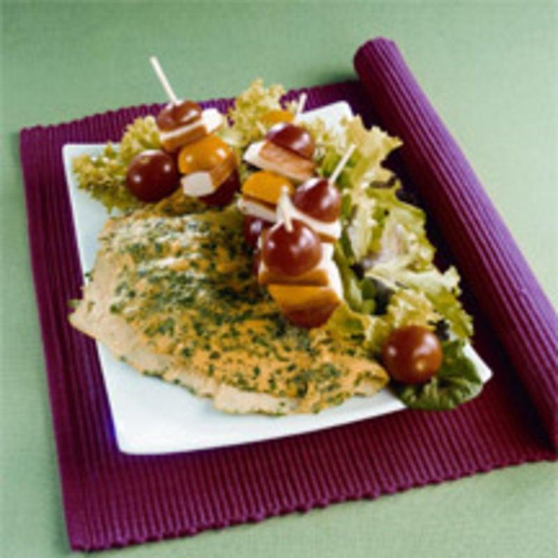Photo de/du Omelette aux herbes aromatiques par WW