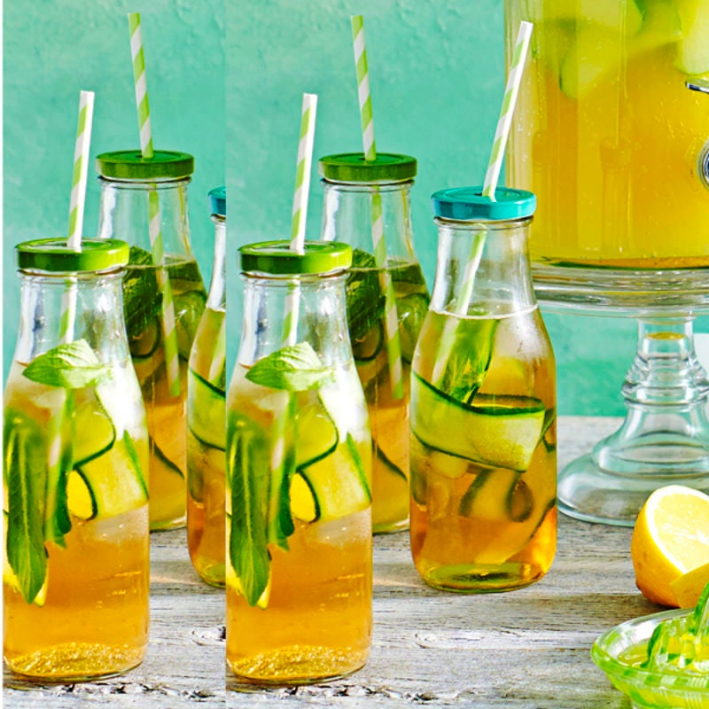 Photo de/du Eau tonique citron, concombre et menthe par WW