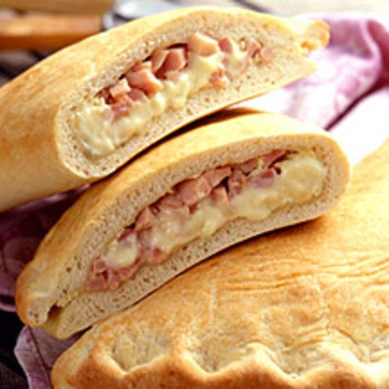 Photo de/du Pizza calzone jambon fromage par WW