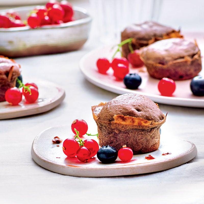 Photo de/du Mini-cakes chocolat et banane par WW