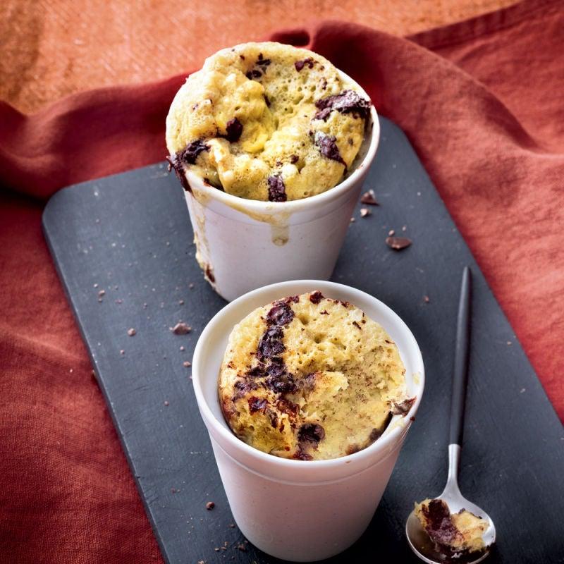 Photo de/du Mug cake à la banane et chocolat par WW