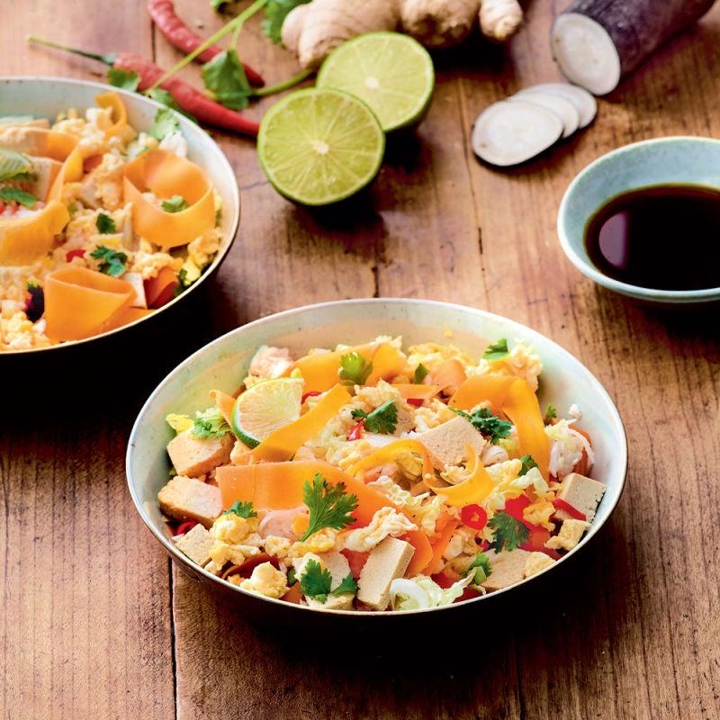 Photo de/du Pad thaï végétarien par WW