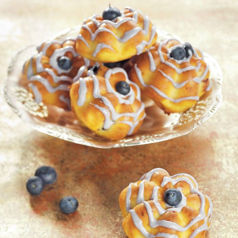 Photo de/du Cupcakes aux myrtilles par WW