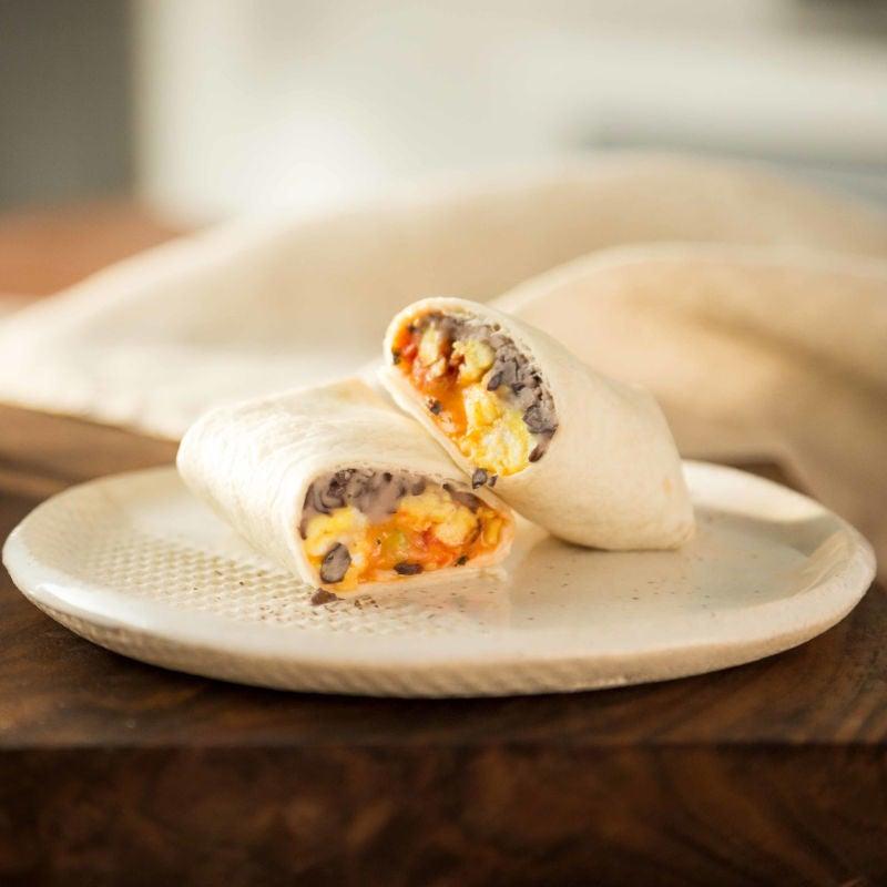 Photo de/du Burritos déjeuner congelables par WW