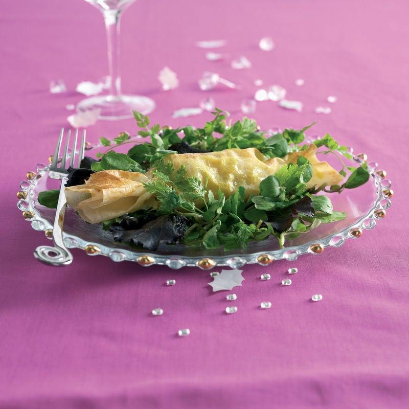 Photo de/du Bonbon papillote de foie gras et sa salade folle par WW