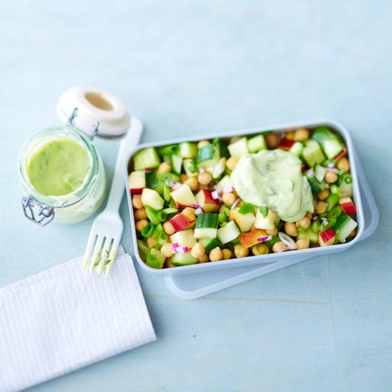 Photo de/du Salade de pois chiches par WW