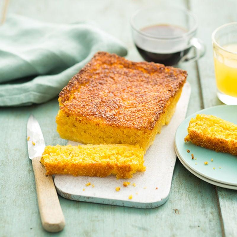 Photo de/du Cake de polenta à l'ananas par WW