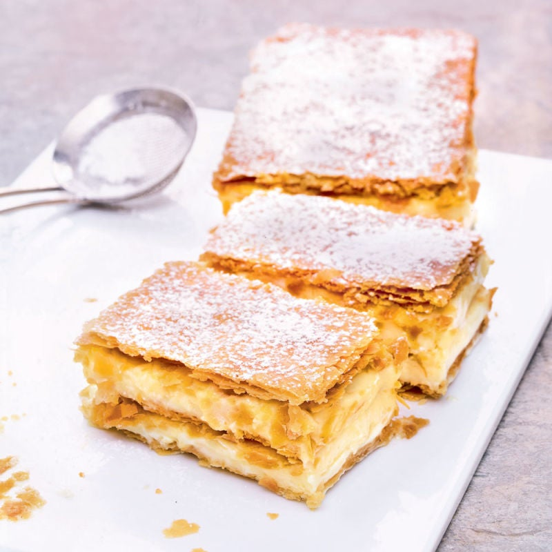 Photo de/du Millefeuille vanille par WW