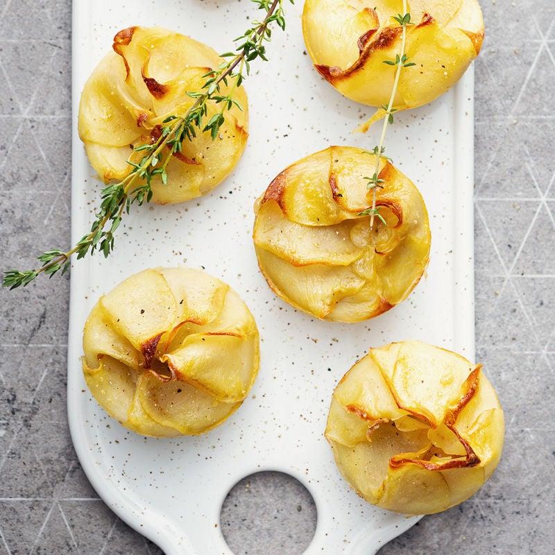 Photo de/du Cupcake pomme de terre et camembert par WW
